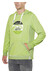 Chillaz Vail Retro Hoody Men lime green washed